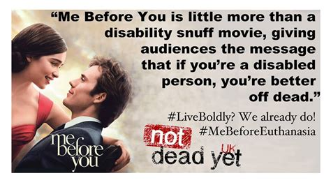 film romantis me before you the film me before you is disability death porn that s