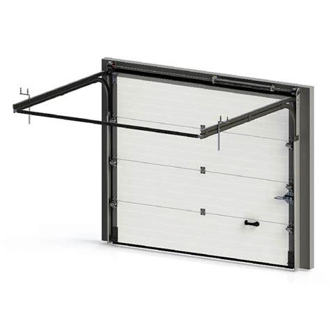 Portail Garage Standard by Porte De Garage Sectionnelle Lisse Isol 233 E Porte