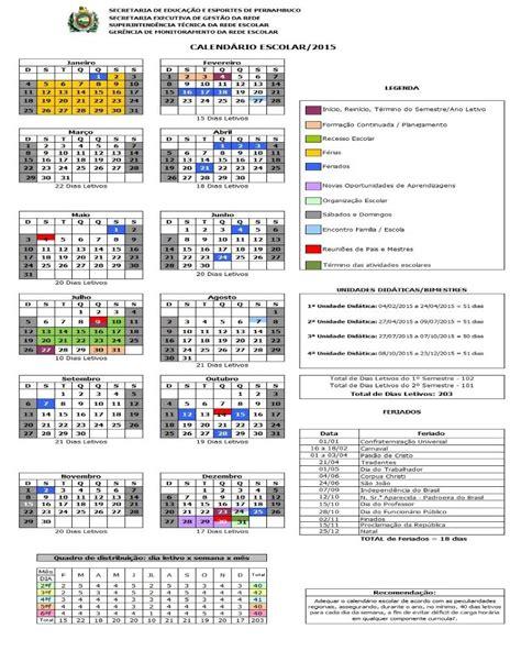 Calendario Escolar Mexico 2015 Escola Ambiental De Lajedo Pe Calend 193 Escolar