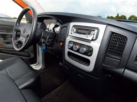 2003 Dodge Ram Interior by 2003 Dodge Ram 1500 Hemi Sport Truck Magazine