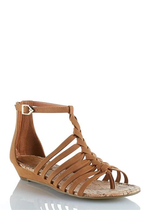 wide width strappy sandals cato fashions