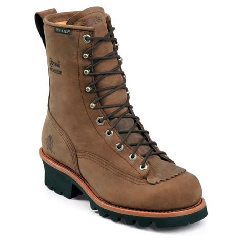 s 8 quot waterproof chippewa 174 steel toe electrical hazard