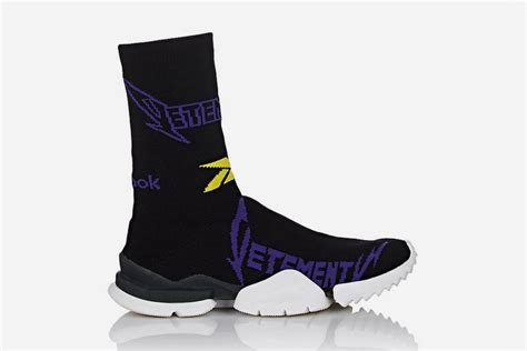 X Reebok Sock Sneakers vetements x reebok sock runner sneaker bar detroit