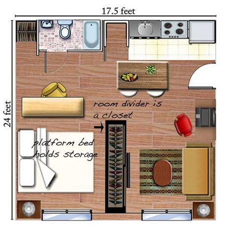 studio apartment layout planner how to efficiently arrange furniture in a studio apartment