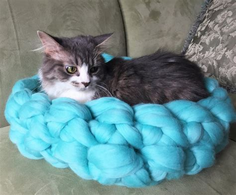 cat bed pattern knit cat bed pattern comsar for