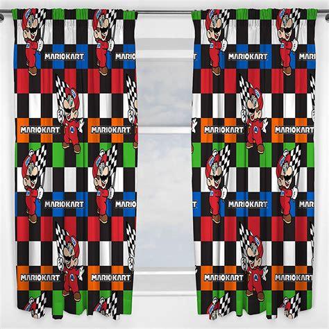 Housse De Couette Mario Kart by Nintendo Mario Kart Chs Couverture Rideaux Set