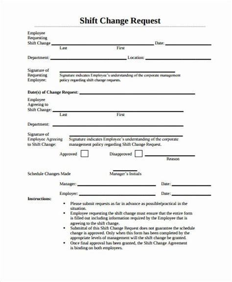 sample change request form   change form template