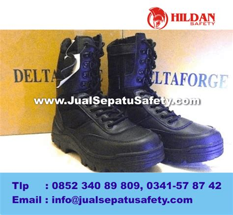 Jual Sepatu Delta Usa toko sepatu delta forge tactical series black