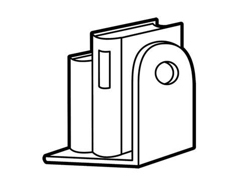 libros para colorear online dibujo de estanter 237 a con libros para colorear dibujos net