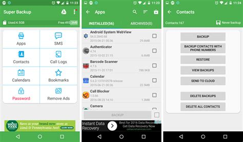 backup apps android don t lose your data 5 top android backup solutions