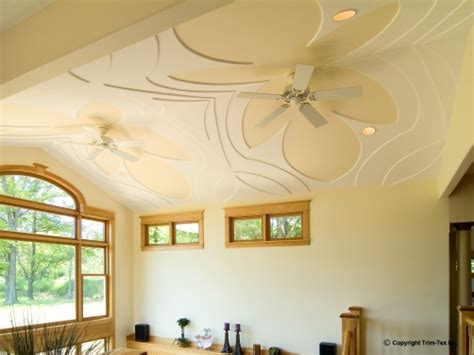 decorated ceiling decorative ceilings trim tex drywall products