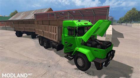 Fs 720 Atasan Kombi Jumbo kraz 64431 and trailer v1 0 mod for farming simulator 2015 15 fs ls 2015 mod