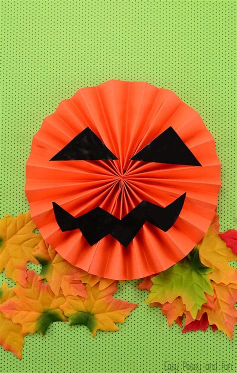 O Lantern Paper Craft - paper o lantern easy peasy and