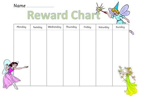 search results for reward chart for kids template
