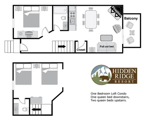 You have read this article with the title one bedroom with loft plans