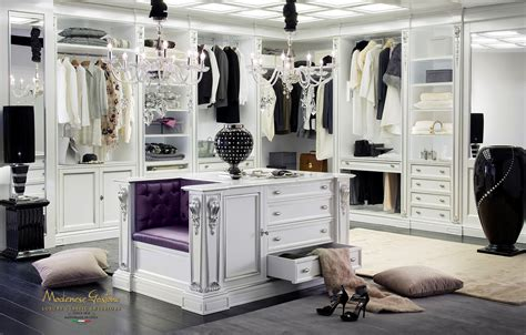 High End Closet by High End Walk In Closet Design For Large Room Classic