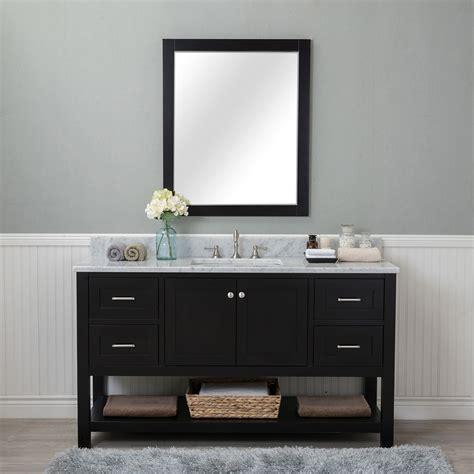 home design outlet center bathroom vanities alya bath wilmington 60 in single bathroom vanity in