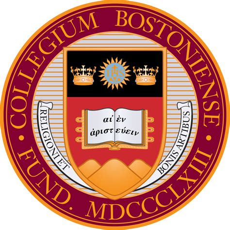 Bu Mba Class Size file boston college seal svg