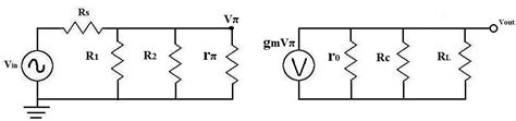 transistor ac equivalent circuit how to calculate the midband gain of a transistor circuit