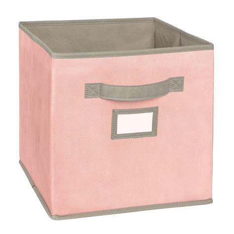 light pink storage cubes pink fabric storage bins best storage design 2017