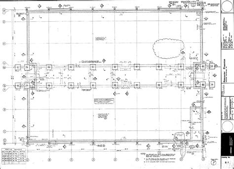 foundation plan drawing foundation and ground floor plan