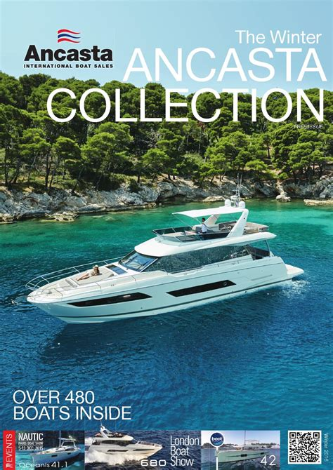 ancasta international boat sales the ancasta winter collection 2016 by ancasta