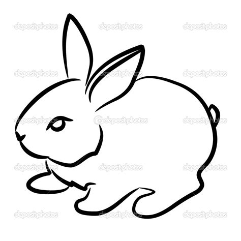 rabbit simple rabbit images on rabbit drawing logo and bunnies
