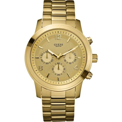 Guess 3chrono Gold guess watches