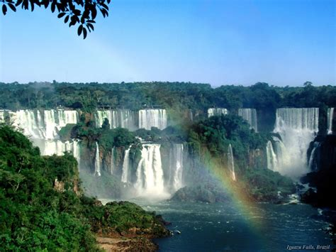 famous waterfalls top ten waterfalls famous waterfll wallpapers waterfalls