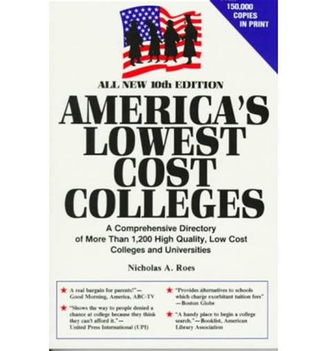 Low Cost Colleges In Usa For Mba by America S Lowest Cost Colleges A Comprehensive Directory