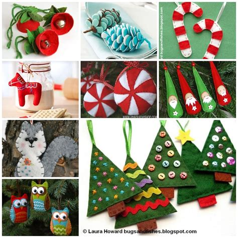 diy felt christmas ornaments long hairstyles