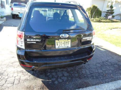 subaru 6 cylinder forester sell used 2012 subaru forester black on black wagon 4x4