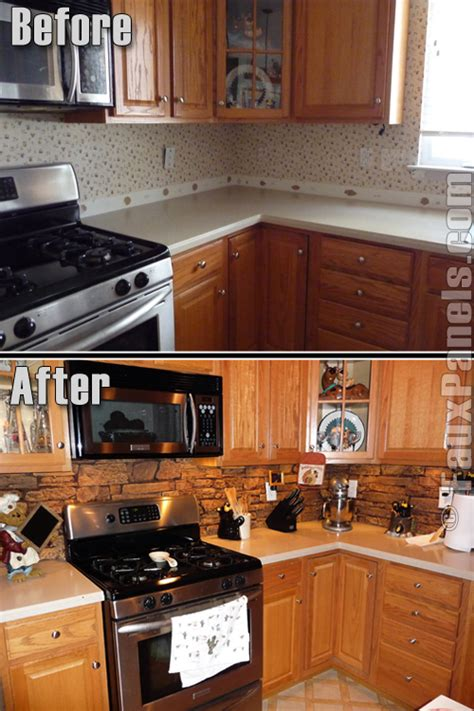backsplash panels for kitchens easy diy backsplashes in the kitchen creative faux panels