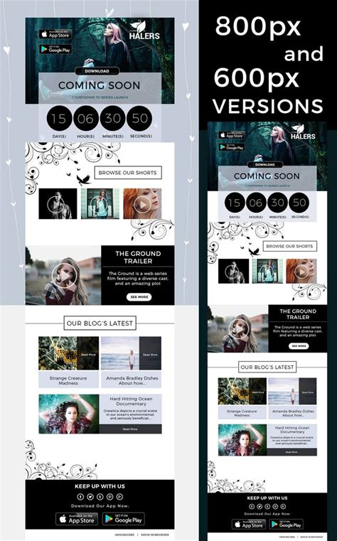 newsletter layout photoshop 23 best stunning email newsletter templates images on