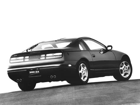 nissan 300zx z32 t top usa version 1990 mad 4 wheels
