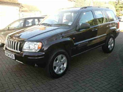 jeep grand 04 jeep 2004 04 grand 2 7 crd auto limited car for sale