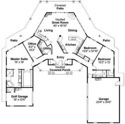 two bedroom ranch house plans ranch style house plans 2473 square foot home 1 story 3 bedroom and 2 bath 3 garage stalls