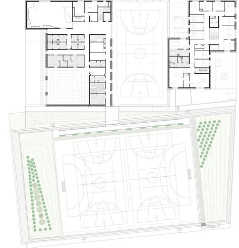 purpose of floor plan zac del lilas multi purpose building scape archdaily