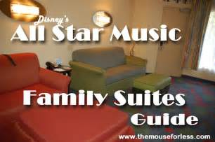 disney all family suite floor plan family suites at disney s all star music resort guide