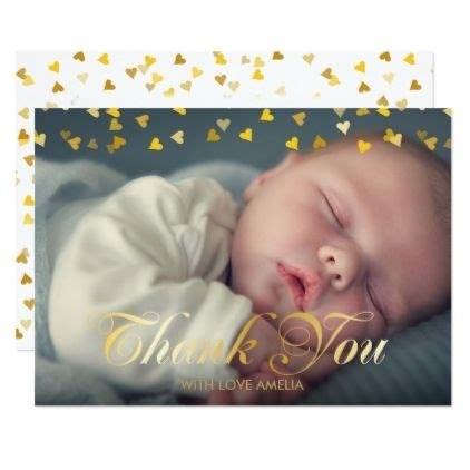Thank You Cards For New Baby Gifts