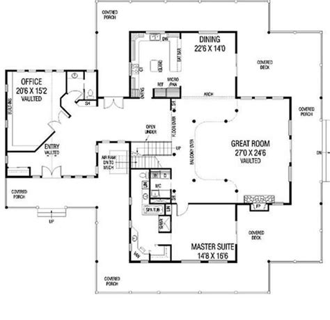 luxury modern ranch farmhouse house plans home design