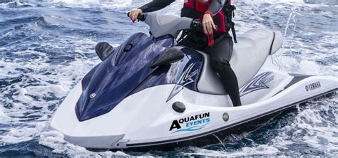 waterscooter vaarbewijs waterscooter varen aquafun events