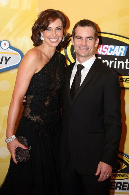 Nascars Jeff Gordon Marries Belgian Model by Jeff Gordon Married Second In 2006 After Divorce With