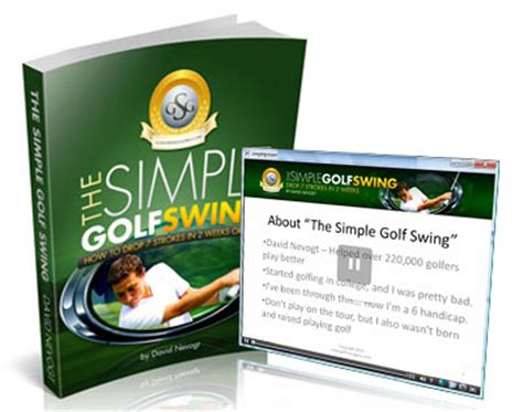 simple golf swing system simple golf swing system review learn how to increase