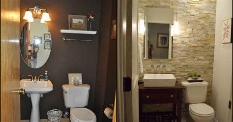 hometalk diy small bathroom renovation half bath renovation hometalk