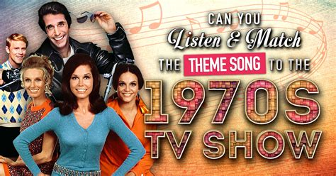 in the 70s tv trivia of the seventies answers can you listen and match the theme song to the 1970s tv