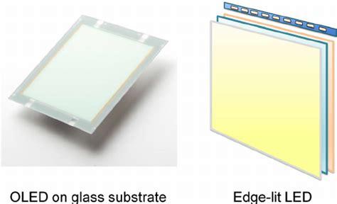 organic light emitting diode gktoday rigid organic light emitting diode oled panel on glass and edge lit