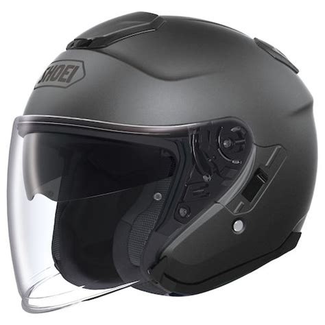 Helm Shoei J Cruise Black shoei j cruise helmet revzilla