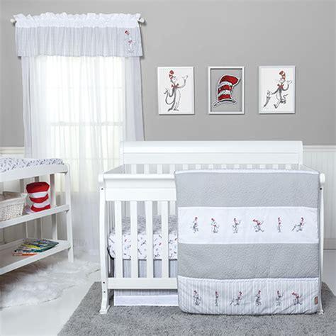 Cat Crib Bedding Baby Unisex Trend Lab Dr Seuss Cat Bedding Set Boscov S