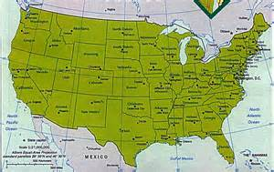 Usa Latitude Map by Maps Us Map Compass